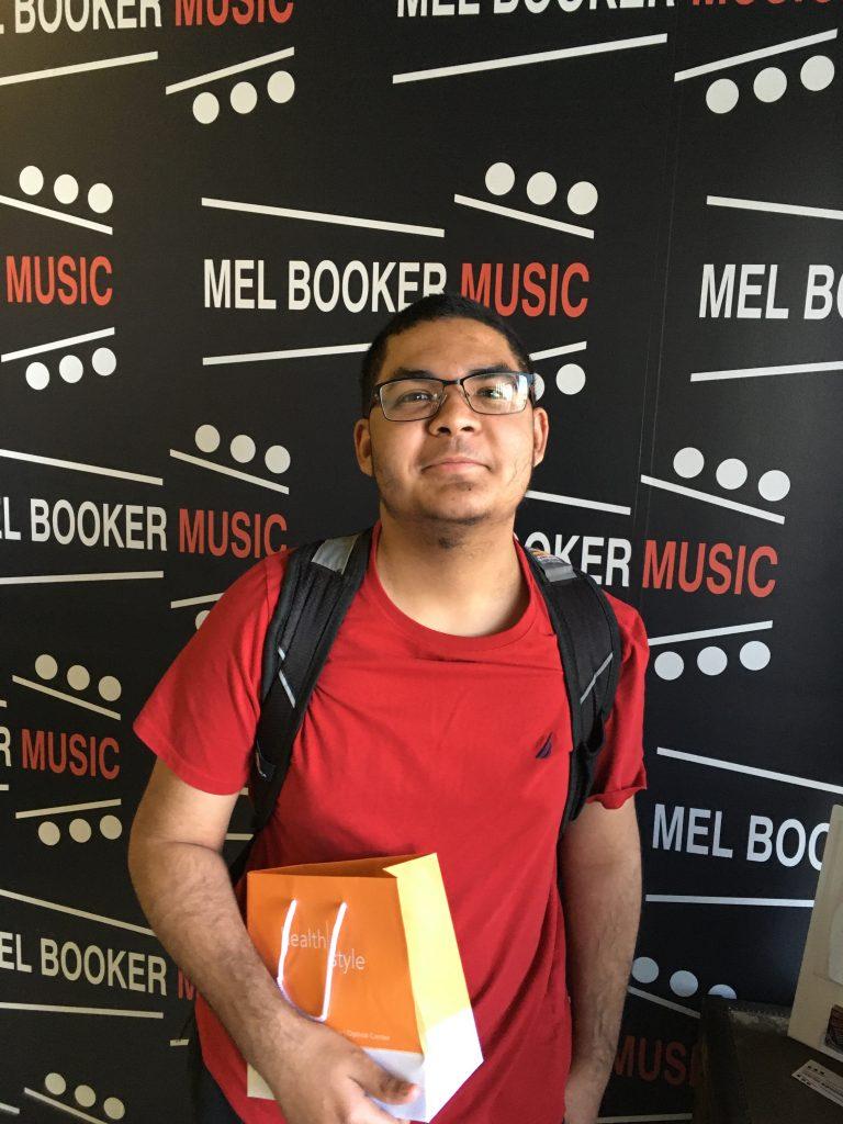 Mel Booker Music Student