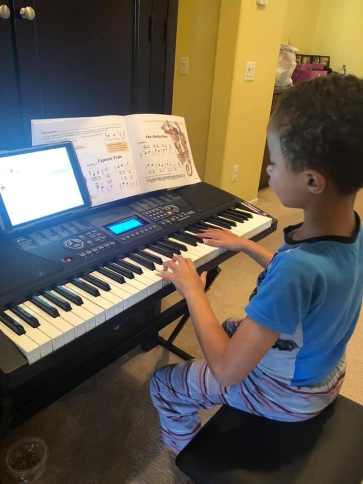 Mel Booker Music Zoom Lesson